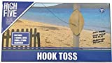 High Five Hook Toss Wood Board Hook and Ring Outdoor Game