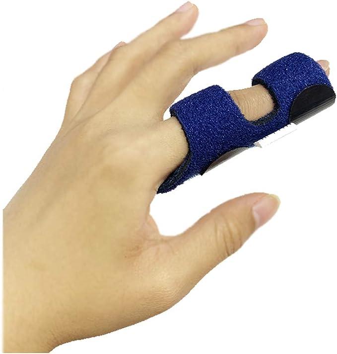 Arthritis finger splint for bending sideways handmade hammered sterling Zinc alloy brass or copper textured rings