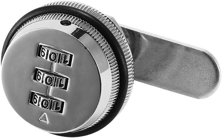 Zifferncode-Kombination Nockenschrank Zinklegierung Praktisches Spa-Passwort Sicherheitscodiertes Schloss Redxiao Elektronisches Schrankschloss-Kit