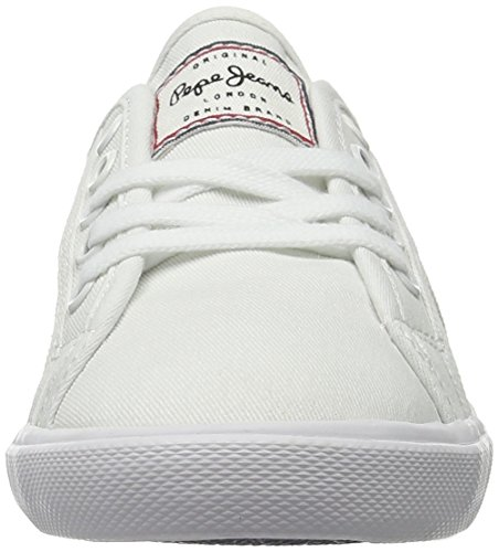 Mujer 17 Para Basic Pepe Zapatillas Aberlady Jeans Blanco white YwqxptH6