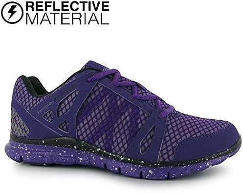 Karrimor - Zapatillas de running para hombre Purp / Char / Reflc: Amazon.es: Zapatos y complementos