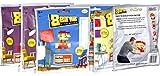 Nintendo Super Mario Bros 8 Bit Art Sealed 8 Bags Note Mosaic Art Kits