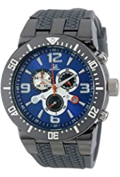 Joshua & Sons Men's JS55GY Swiss Chronograph Grey Sport Watch