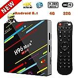 EstgoSZ H96 Max+ TV Box Android 8.1 4GB 32GB Android TV Box RK3328