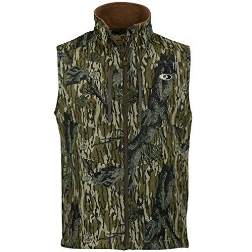 - Mossy Oak Men's Camo Sherpa 2.0 Fleece Lined Hunting Vest in Multiple Patterns