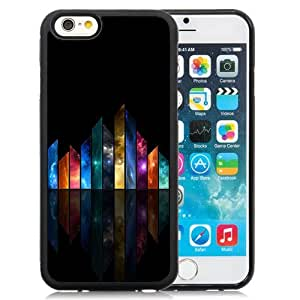 New Personalized Custom Designed For iPhone 6 4.7 Inch TPU Phone Case For Colorful Abstract Buildings Phone Case Cover