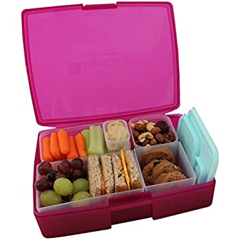 omiebox bento lunch box with insulated thermos for kids blue sky. Black Bedroom Furniture Sets. Home Design Ideas