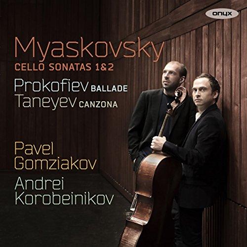 Myaskovsky: Cello Sonatas Nos.1 & 2