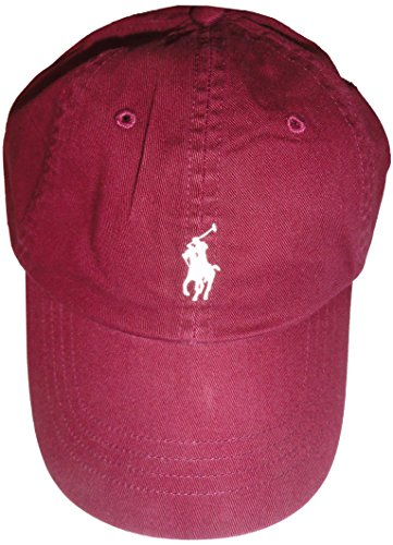Polo Ralph Lauren Men Pony Logo Adjustable Sport Hat Cap (One size, Class - Lauren Visor Polo Ralph
