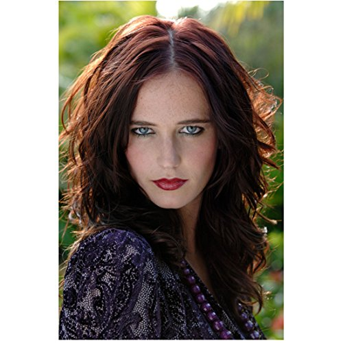 Eva Green Looking Dead Ahead with Sharp Eyes 8 x 10 Inch Photo