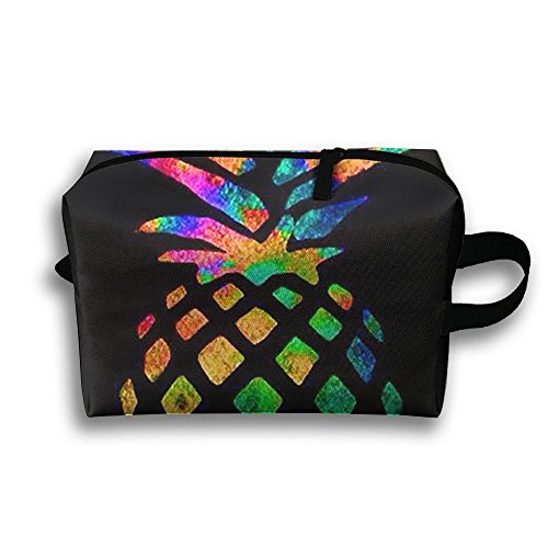 Sam Sockets (Pineapple Colorful Cosmetic Bags Makeup Organizer Bag Pouch Purse Handbag Clutch Bag)