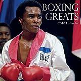 2018 Boxing Greats Calendar - 12 x 12 Wall Calendar - with 210 Calendar Stickers
