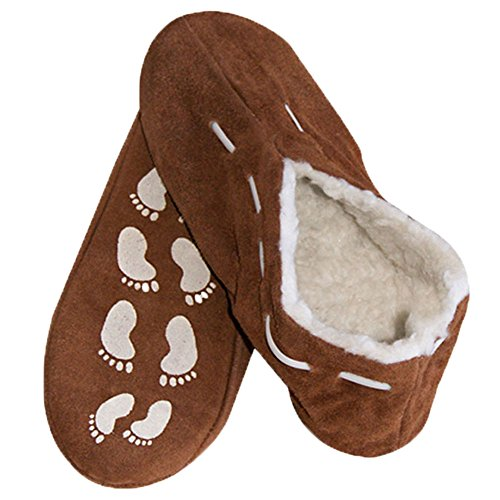 easy4fashion Men's Slippers Brown - BROWN DBaGLuEGie