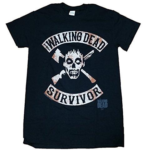 Walking Dead Survivor Licensed Graphic T-Shirt -