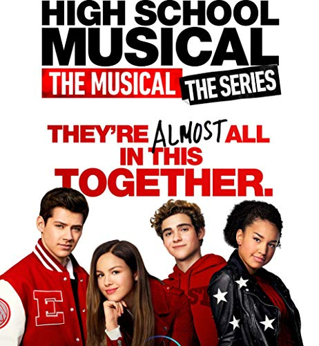 TianSW High School Musical The Musical The Series Season 1 (14inch x 15inch/35cm x 38cm) Waterproof Poster No Fading Christmas Best Gift for Children (Christmas High Musical School)