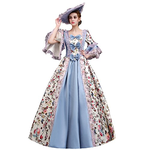 20b3c2a54e91f 貴族 ドレス ロングドレス 演奏会 ピアノ 発表会 ドレス オペラ 衣装 中世 演奏会用