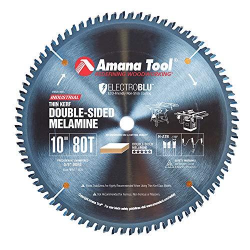 Disco Sierra AMANA MSB1080C Melamina de doble cara con bor