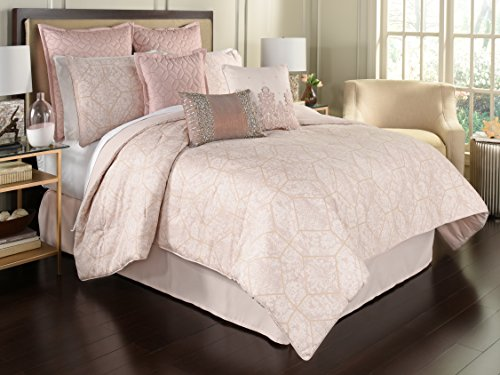 Beautyrest Montreal 4-Piece Comforter Set, Queen, Blush (Bedding Montreal)