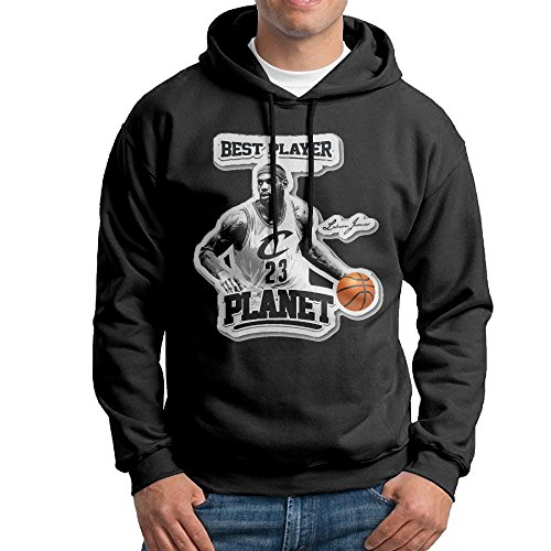 LOYRA Men's Famous Player Hooded Sweatshirt Size L (Funny Famous Couples Costumes)