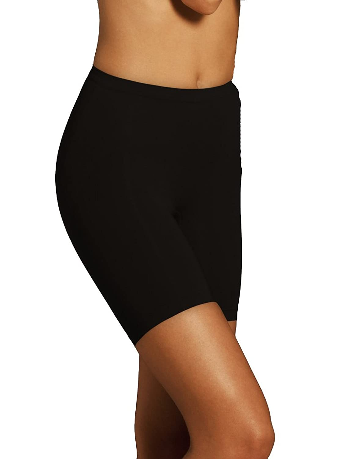Womens Body Wrap Shapewear Lites Black Waist Line Thigh Slimmer 47820