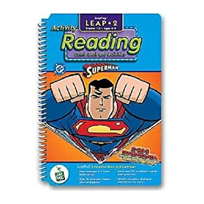 LeapPad: Leap 2 Reading - Superman Interactive Book and Cartridge: Toys & Games
