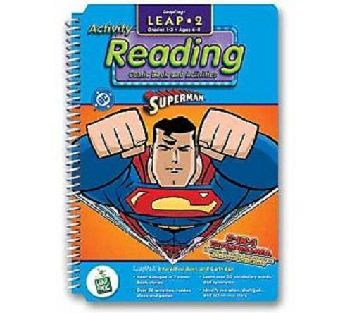 LeapPad: Leap 2 Reading - ''Superman'' Interactive Book and Cartridge by DC (Image #1)
