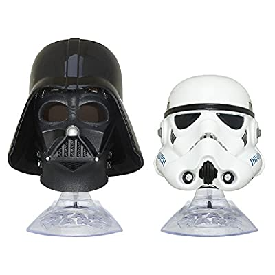 Star Wars: The Empire Strikes Back Black Series Titanium Series Darth Vader and Stormtrooper