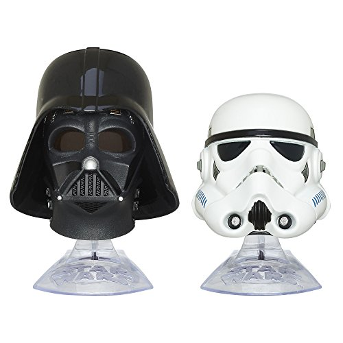 (Star Wars: The Empire Strikes Back Black Series Titanium Series Darth Vader and Stormtrooper)