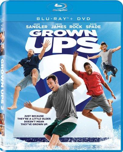 - Grown Ups 2 (Blu-ray + DVD + Digital HD)