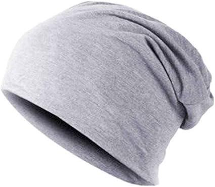 Bobury Hombres cálido Sombrero de Invierno de algodón Mezclado Gorro de esquí Gorro Liso: Amazon.es: Deportes y aire libre