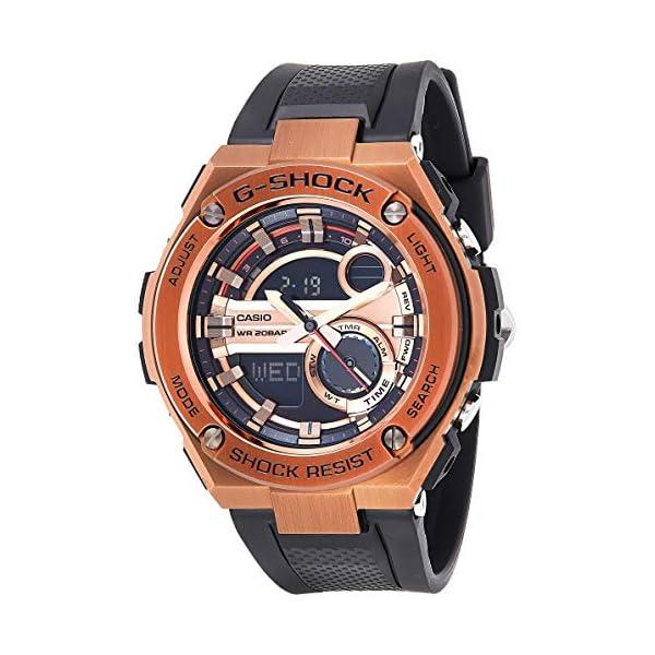 Casio De los hombres Watch G-SHOCK G-STEEL Reloj GST-210B-4A 2