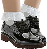 SAMFE UC Lace Ruffle Anklet Socks