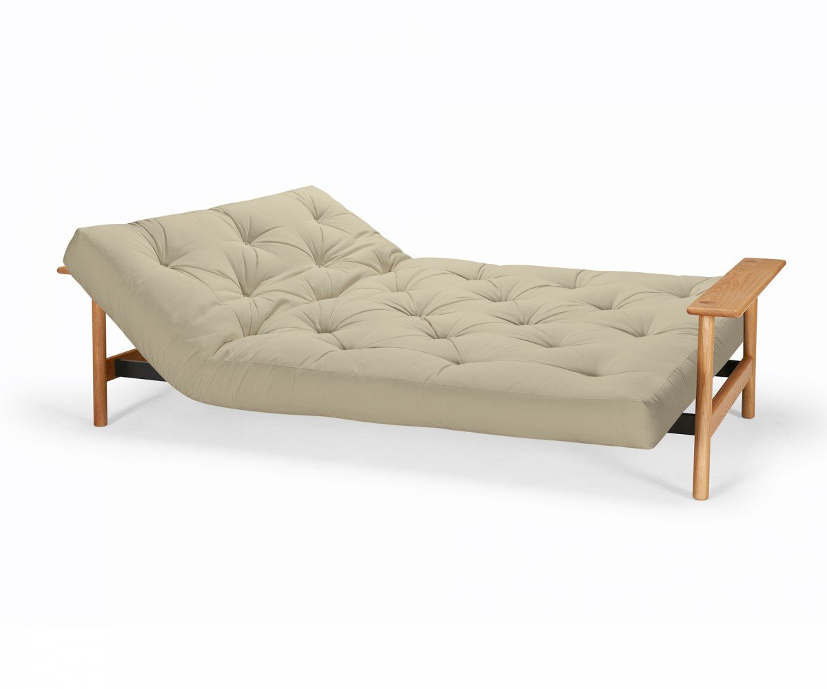 Futonsofa Balder - Schlafsofa 140 x 200 cm mit Futon & Lattenrost ...
