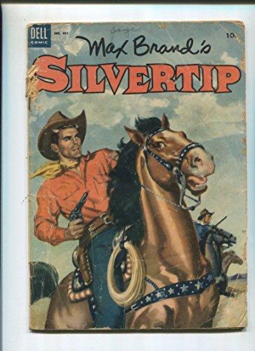 Max Brands Silvertip #491 Dell Comics - Sa Brand