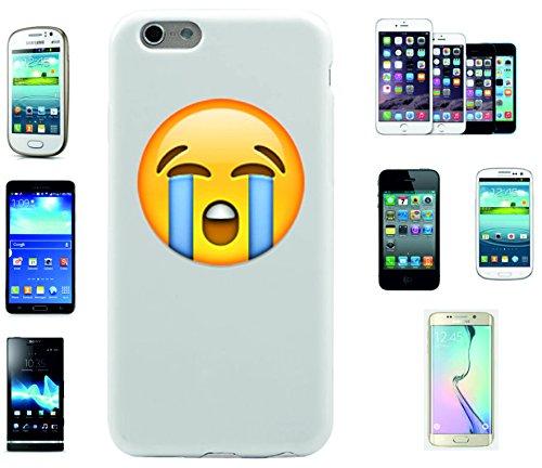 """Smartphone Case Apple IPhone 7+ Plus """"Heftig weinendes Gesicht"""", der wohl schönste Smartphone Schutz aller Zeiten."""