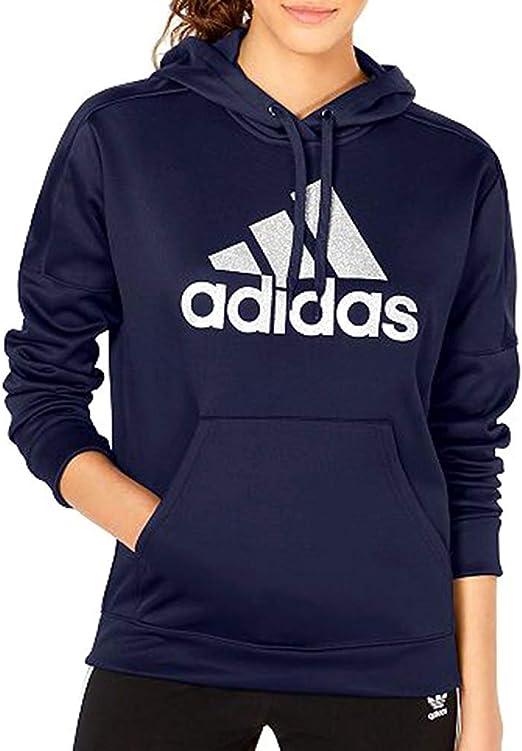 Hoodie Athletics Linear Logo Hoodies Adidas Women Shining Women