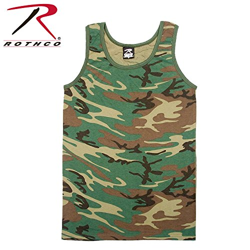 Tank Top Camouflage, Small(SML)