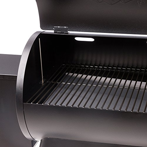 Traeger Grills Tailgater 20 Portable Wood Pellet Grill and Smoker - Grill, Smoke, Bake, Roast, Braise, and BBQ (Blue) by Traeger (Image #4)