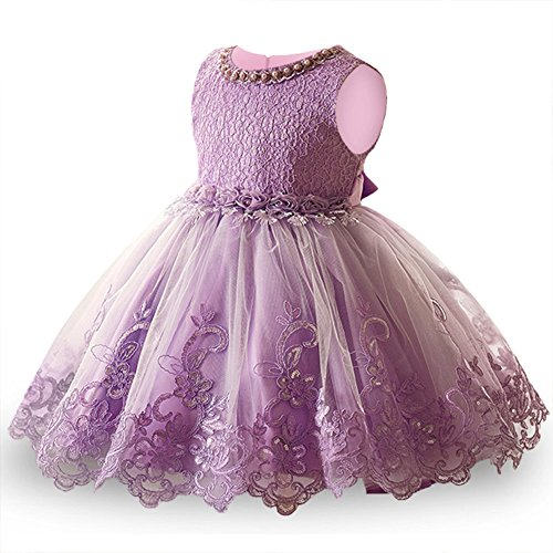 LZH Girls Bridesmaid Dress Wedding Pageant Party Princess Gown Prom Dresses (Prom Gown Slim)