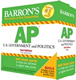 img - for Barron's AP U.S. Government and Politics Flash Cards, 2nd Edition book / textbook / text book