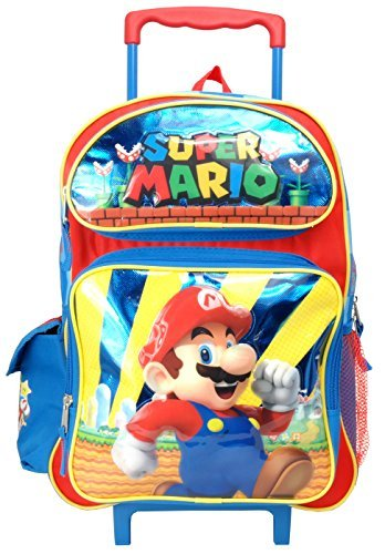 super mario rolling backpack - 1