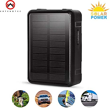 Aashish Solar Power GPS Tracker Pet Car Strong Magnetic