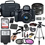 Canon EOS M50 Mirrorless Digital Camera (Black) with 15-45mm STM...