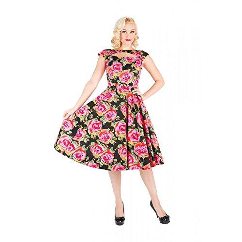Pretty Kitty Fashion -  Vestito  - Floreale - Maniche corte - Donna