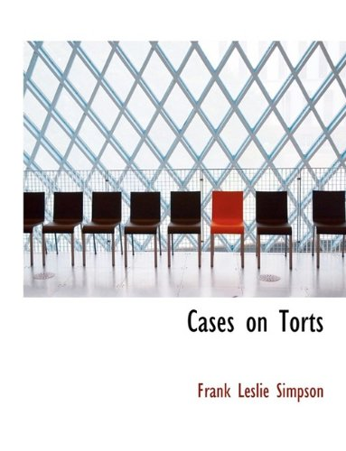 Download Cases on Torts pdf