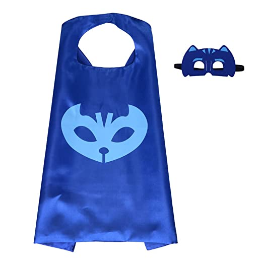 Dress Up Party Superhero PJ Masks Costume For Kids - Best For Christmas Gift,Childrens