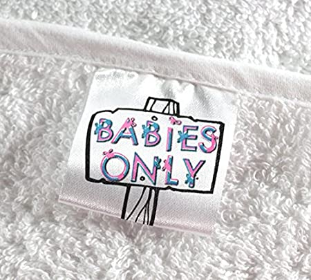 Babies Only Super-Soft Hooded Baby Towel In Pink