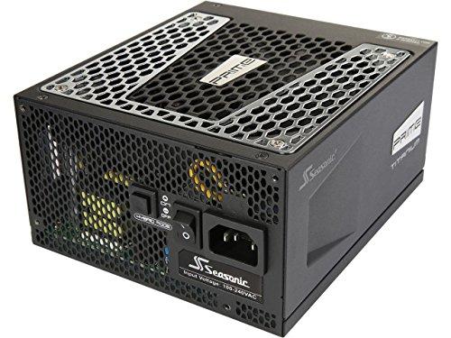 Seasonic PRIME Ultra 750W 80 PLUS Titanium Power Supply, Full Modular, 135mm FDB Fan w/Hybrid Fan Control, ATX12V & EPS12V, Poweron-Self Tester,- 12 yr Warranty (Prima Power Supply)