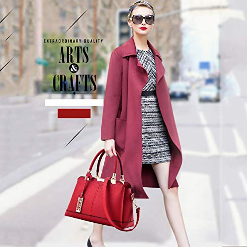 6dc57a3dab Zainetto Nicole Casual In Moda Doris Pelle amp; Rosso Da Universita College  Donna Per Zaino Borsa Nero FrvwxrIqR