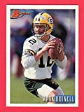 Mark Brunell 1993 Bowman Football Rookie Card (Packers) (Jaguars)
